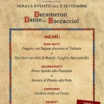 menu decameron